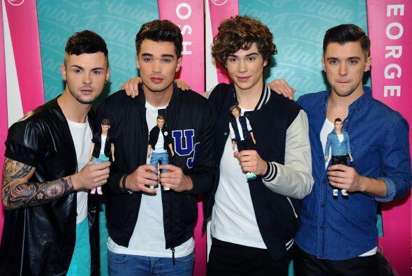 Los muñecotes de One Direction parecen tener punto fijo hacia el éxito.