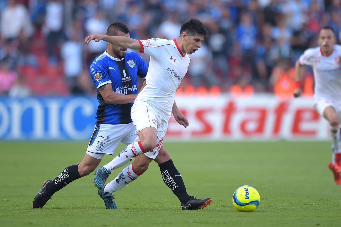 En fotos: Toluca vence de visita al Querétaro y se mete en la pelea por...