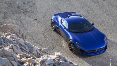 Imágenes del Rimac Concept_One, el auto eléctrico más rápido del 2016