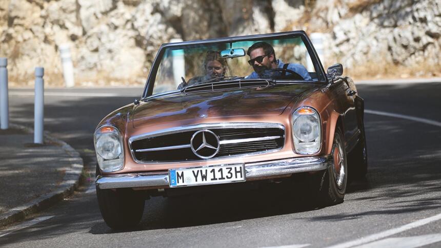 Historia gráfica del Mercedes-Benz SL el auto favorito de los ricos y fa...