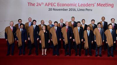 En fotos: Barack Obama en la cumbre APEC 2016