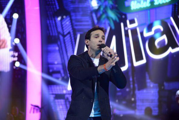 """Raúl Rodríguez quiso ganarse un lugar con """"Vida"""", pero al final no lo co..."""