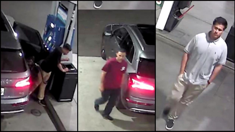 Estos son los tres sospechosos buscados por robos a mano armada.