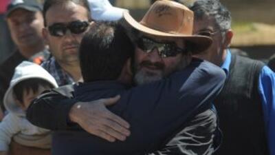 Jorge Galleguillos, uno de los 33 famosos mineros chilenos.
