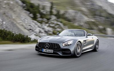 Mercedes-AMG GT C Roadster es el convertible más rápido jamás fabricado...