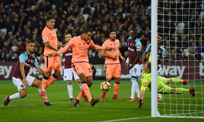 West Ham de Chicharito sufrió goleada contra Liverpool en la Premier Lea...