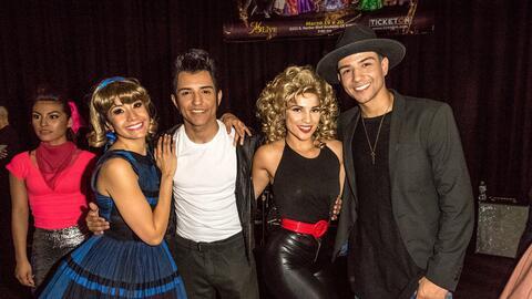 Carmen Ríos tuvo la oportunidad de actuar con Luis y Bebe Coronel...