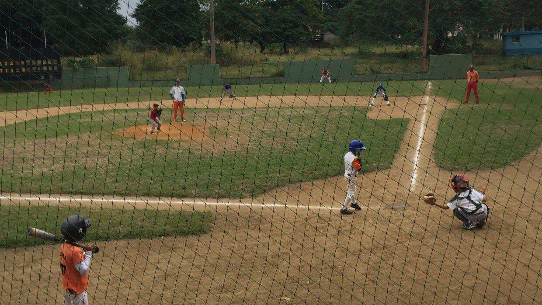 The baseball field where Jose Fernandez first played organized baseball,...