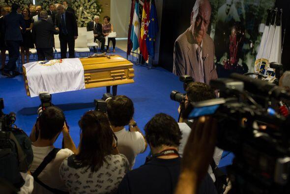 España despidió a la leyenda del Real Madrid, Alfredo Di Stéfano, en el...