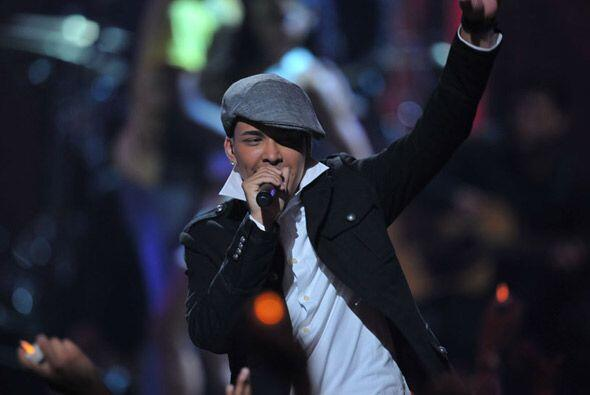 La primera vez que lo vimos en Premios Juventud fue en 2010.