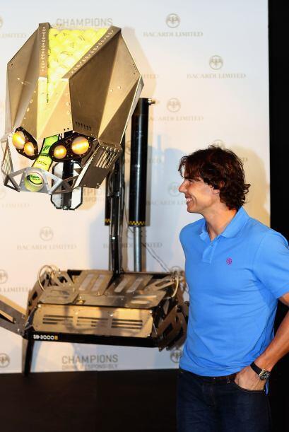 Muy divertido estuvo el ganador de 10 Grand Slams.