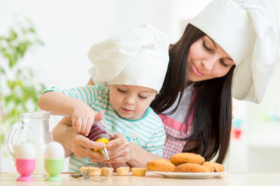 Cocina algo fácil y divertido que le guste a tus hijos y que disfruten a...
