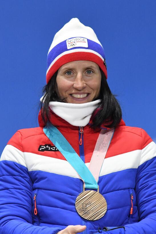 4. Marit Bjoergen (Noruega/esquí de fondo) - 14 (7 oros, 4 platas, 3 bro...