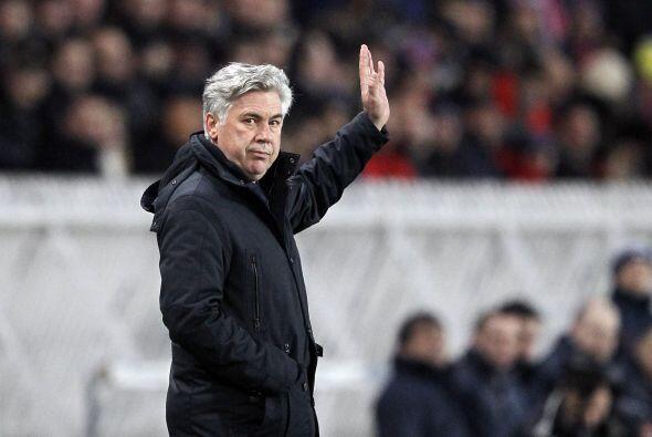 Ya mencionabamos a 'Carleto' Ancelotti con el PSG. El entrenador italian...