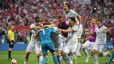 Así fueron los penaltis que clasificaron a Rusia a cuartos de final contra España