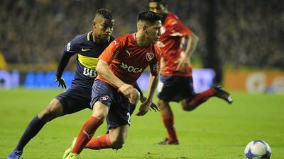 Ezequiel Barco Independiente vs. Boca Juniors