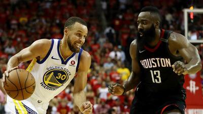Los Houston Rockets caen ante los Warriors y quedan por fuera de la final de la NBA