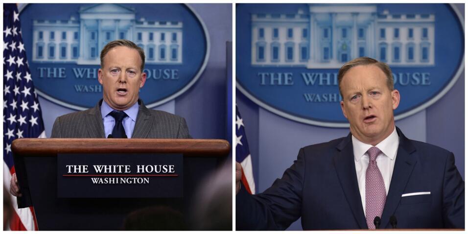 Cinco mentiras que ya son parte del legado de Sean Spicer spice45.jpg