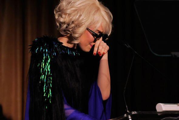 La estrella pop Lady Gaga canceló un concierto en enero del 2010 en Indi...