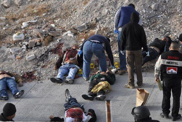 Tan sólo en el 2010  se registraron 3,100 homicidios, según datos oficia...