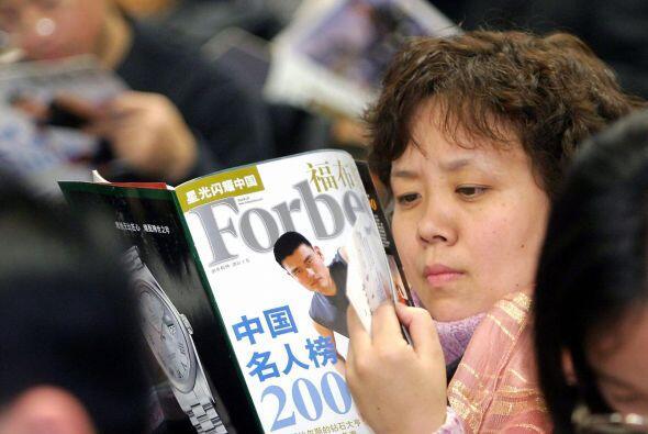 En varias ocasiones encabezó la lista Forbes de celebridades más famosas...