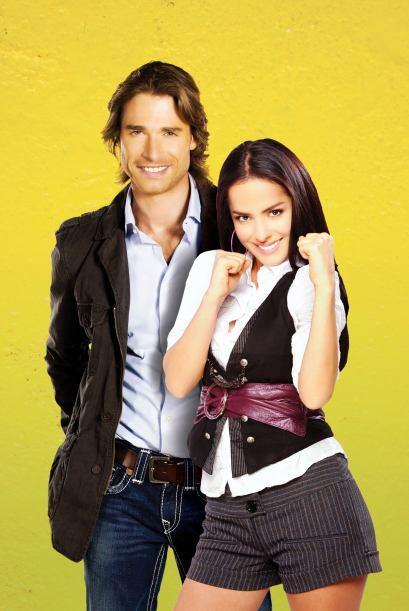 En esa historia Danna García dio vida a Valentina, quien se enamoró del...