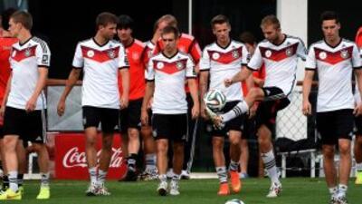 """Los alemanes vieron desde el primer minuto que sus rivales brasileños """"e..."""