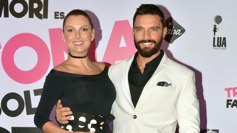 Marjorie de Sousa y Julián Gil anunciaron en septiembre de 2016 q...
