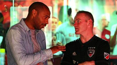 Thierry Henry, visita de lujo en el clásico entre New York Red Bulls y D.C. United