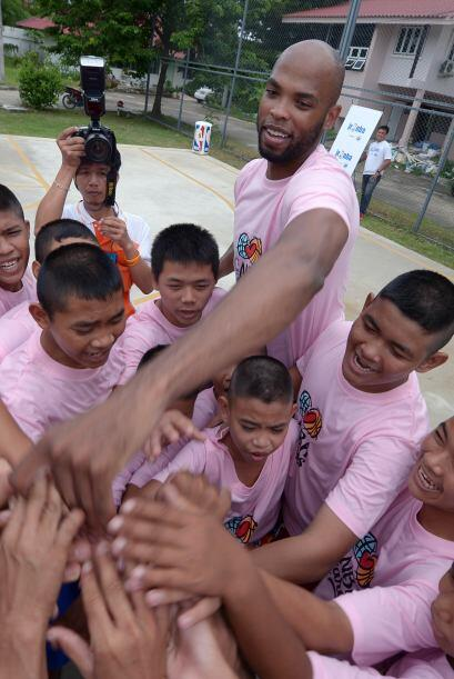 Esta semana el jugador viajó a Bangkok para jugar con los pr&oacu...