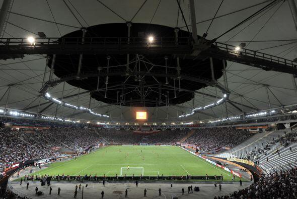 El juego se realizó en el estadio Ciudad de La Plata, a unos 50 kilómetr...