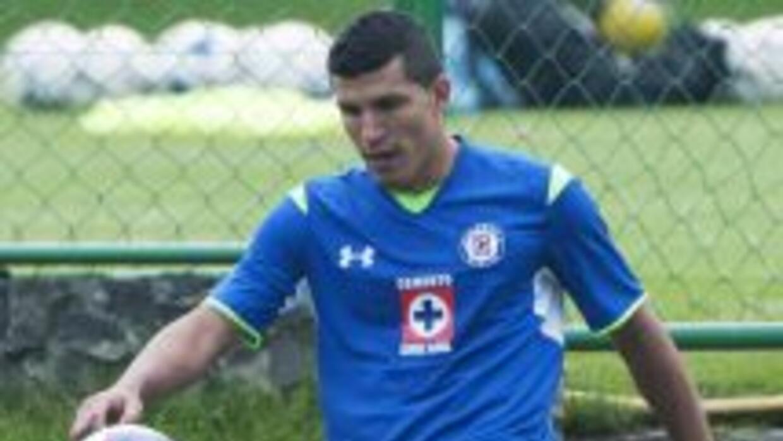 Maza Rodríguez se puso por primera vez la camiseta del Cruz Azul.