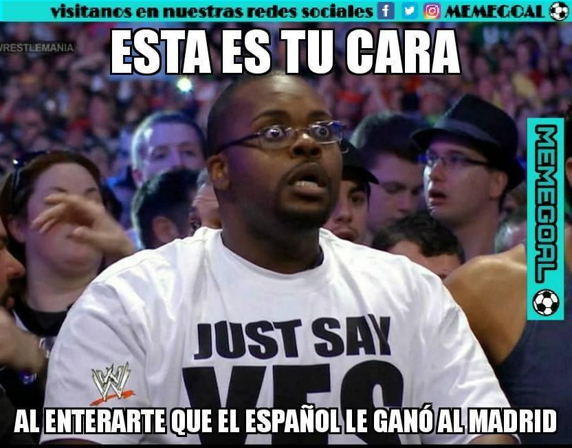El Espanyol le ganó al Real Madrid y los memes no lo pueden creer 282794...