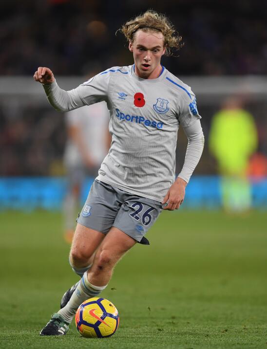 11. Tom Davies - Mediocampista (Inglaterra / Everton F.C.)