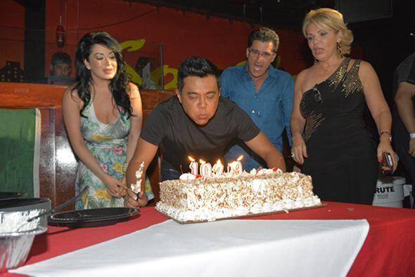 Como en toda celebración, no podía faltar el pastel. Fotos cortesía de A...