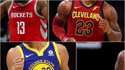 Las playeras mejor vendidas de la temporada en la NBA