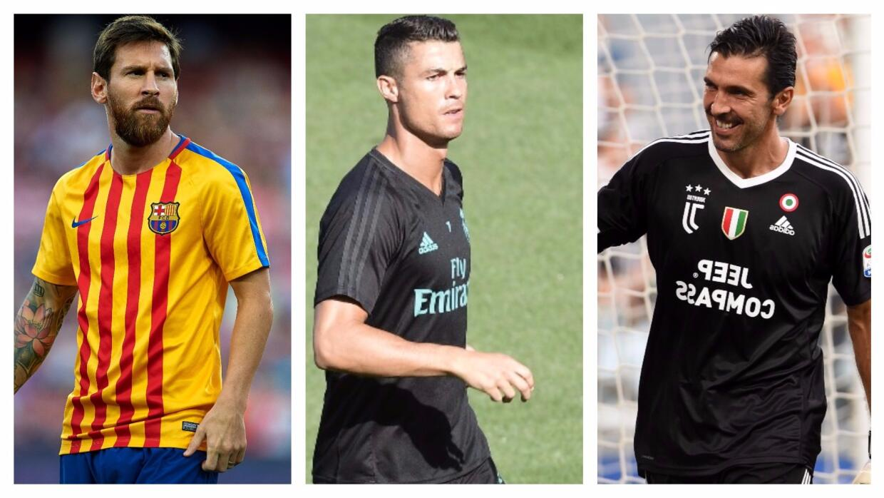 Messi, Cristiano, Buffon