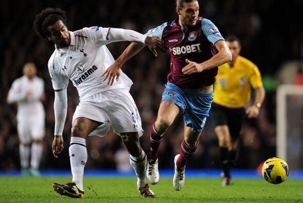 Mejor suerte corrió el Tottenham en su partido ante el West Ham.