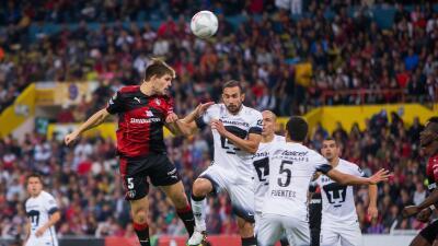 Atlas y Pumas jugaron un entretenido encuentro en el Jalisco.