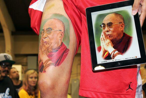 Uno de los ganadores... el Dalai Lama
