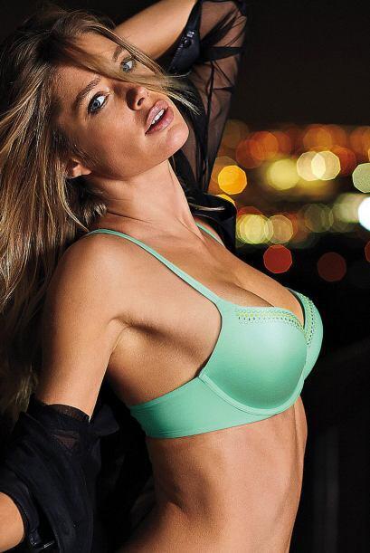 La modelo no tardó nada en  recuperar su figura y para noviembre del 201...