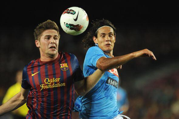 Esta ocasión, el rival elegido fue el Nápoli de la Liga italiana.