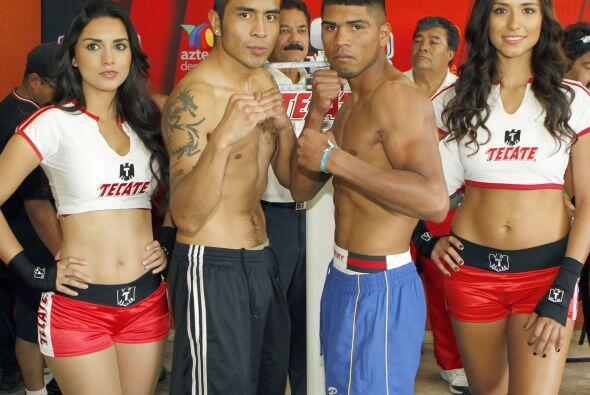 "A 8 rounds en Ligero, Fernando ""Cuervito"" García (17-4-2, 10 ko's..."