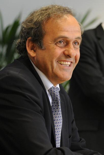 El francés Michel Platini, Vicepresidente de FIFA y Presidente de la Uni...