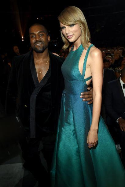 Kanye y Taylor posaron juntos para una foto y dejaron atrás los chismes...