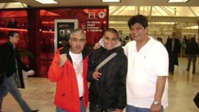Escobedo viajó con la confianza de regresar como campeón mundial (Foto....