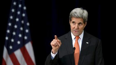 John Kerry, secretario del Departamento de Estado