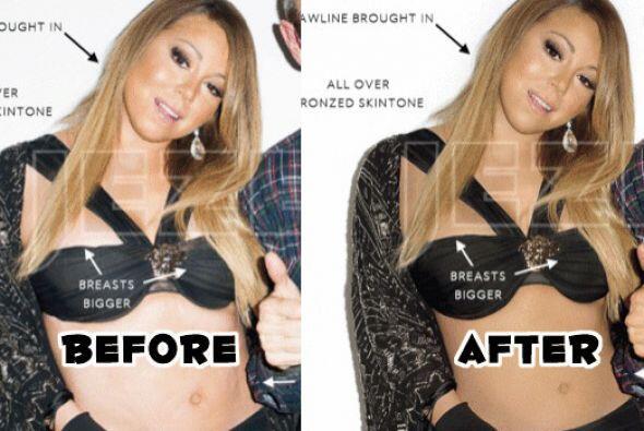 ¡Sorpresa! Mariah le pide una AYUDADOTA al Photoshop. Mira todos los cam...