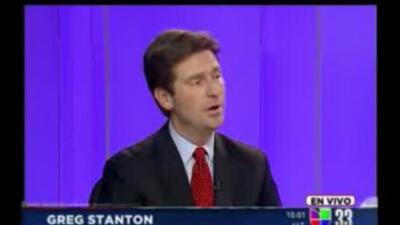 Greg Stanton responde a los televidentes de Univision 33