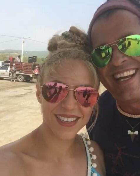 Shakira y Carlos Vives 'La Bicicleta'.